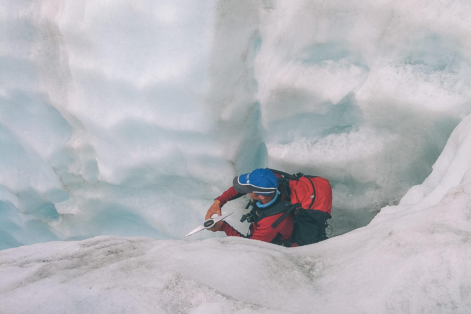 Franz Josef im ewigen Eis