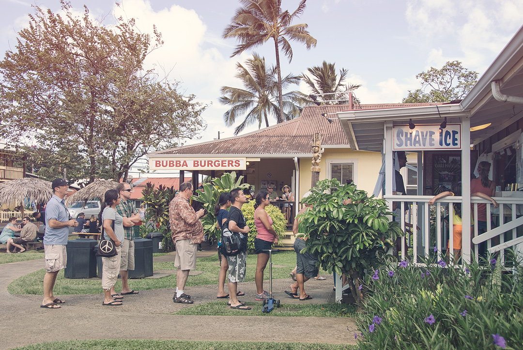 Shave Ice Paradise, Hawaii
