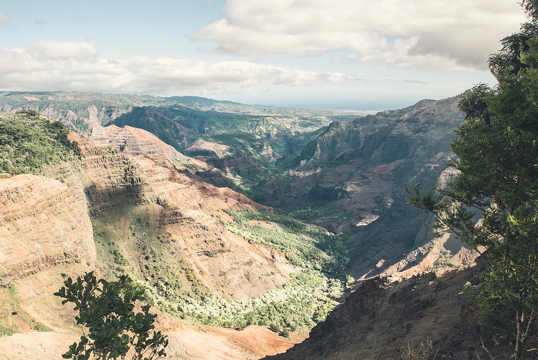 Waimea Canyon by Air
