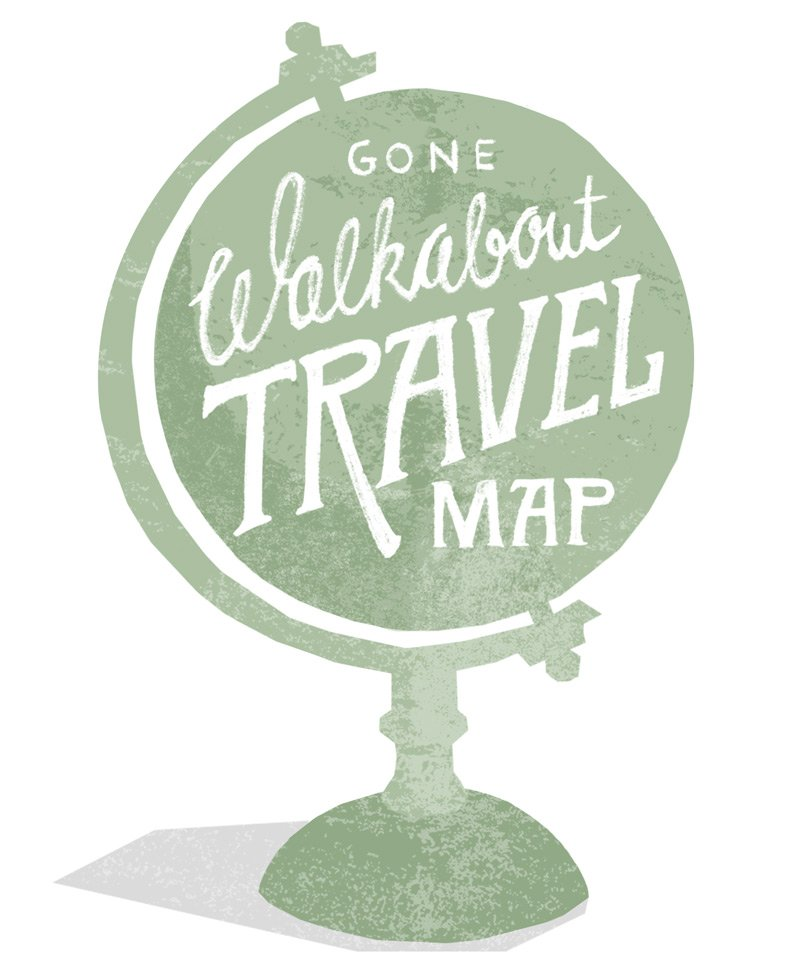 Gone Walkabout Travelmap