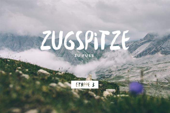 Zugspitze zu Fuß – Etappe 3