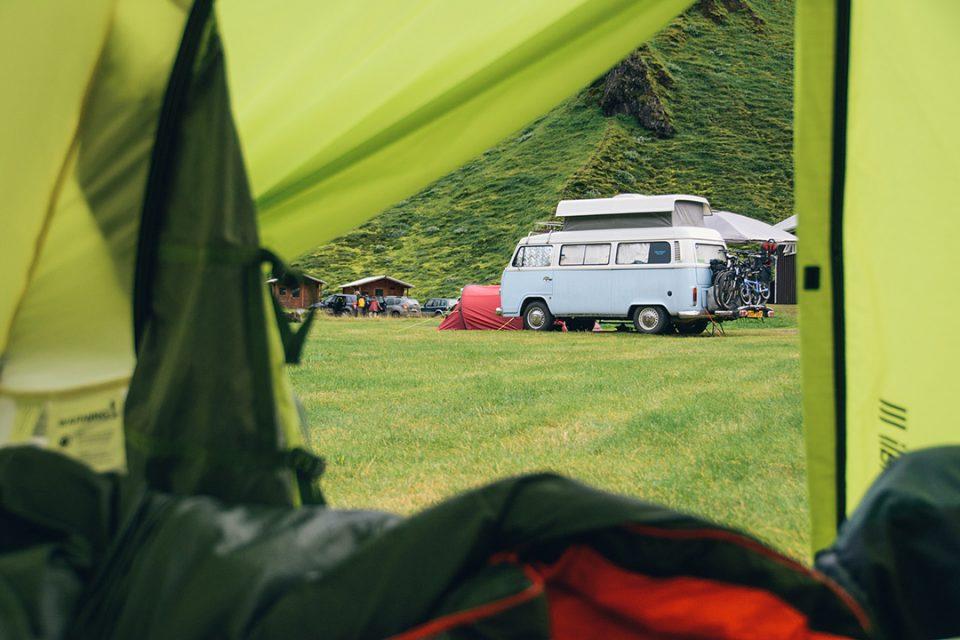 Camping in Thakgil