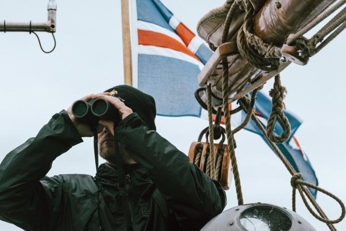 Whale Watching in Island: Heimathafen Húsavík