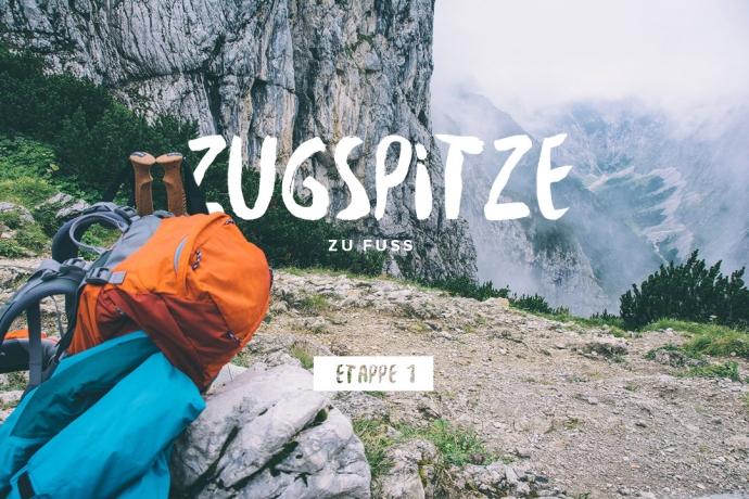 Etappe 1: Zugspitze zu Fuss