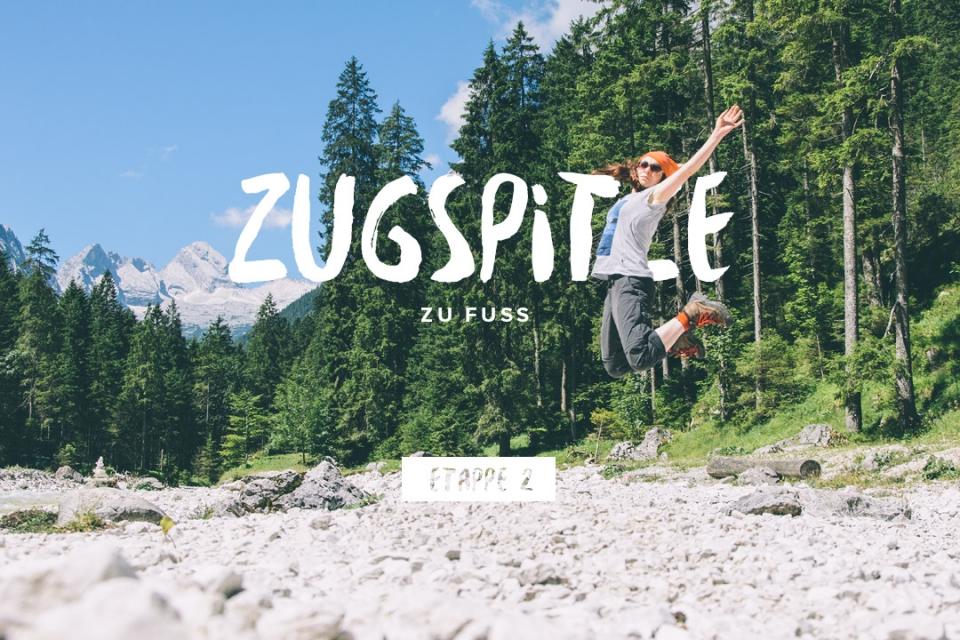 Zugspitze zu Fuß – Etappe 2
