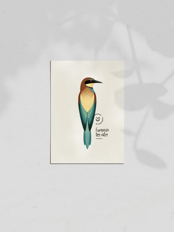 gw-shop-postcard-european-beeeater-01